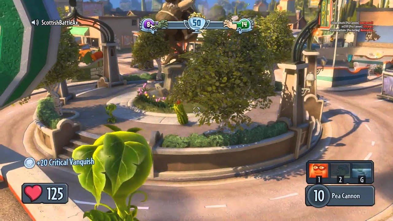Plants vs Zombies Garden Warfare PC Multiplayer Team Vanquis \