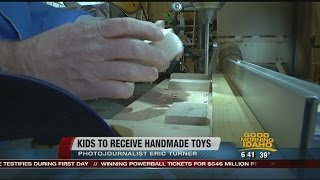 Local Man Pays Forward Handmade Wooden Toys To Shriners