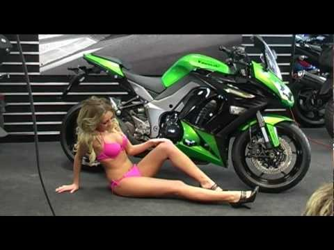 Motocross Girl Wallpaper Syb Kawasaki Z1000sx Bikini Photo Shoot 2012 P1 Youtube