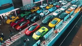 Lamborghini Club Indonesia at Porsche Club Indonesia's Sentul Track Day 2018