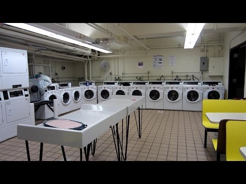 College Laundry Room Tour + TIPS