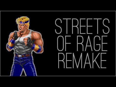 Matt McMuscles ✕『RSS』Streets of Rage Remake