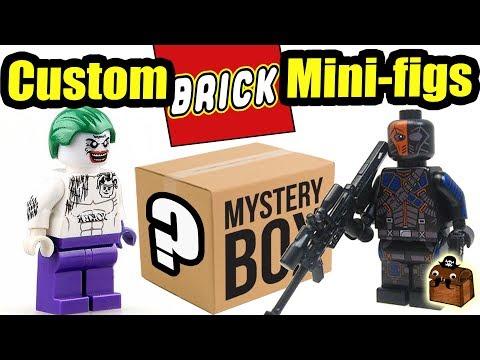 Suicide Squad Joker LEGO Custom Minifigures 2017