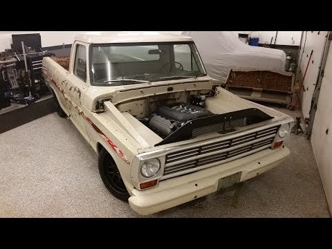 1969 Ford F100 5.0 Coyote Swap Project
