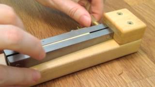Making A Clarinet Reed