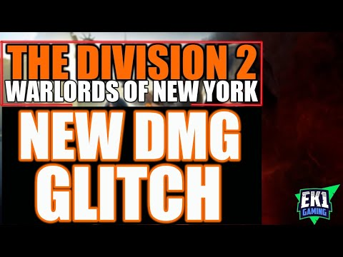 THE DIVISION 2 - NEW DMG GLITCH SIMPLE INSTRUCTIONS! AFTER 24/03 PATCH!