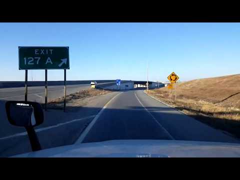 BigRigTravels LIVE! Emporia, Kansas to Kansas City, Missouri Interstate 35 & 435-Dec. 12, 2017