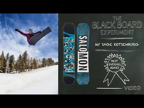 c37994e8759 The Blackboard Experiment  2017 Board Test - Best Overall Snowboard   Salomon Huck Knife