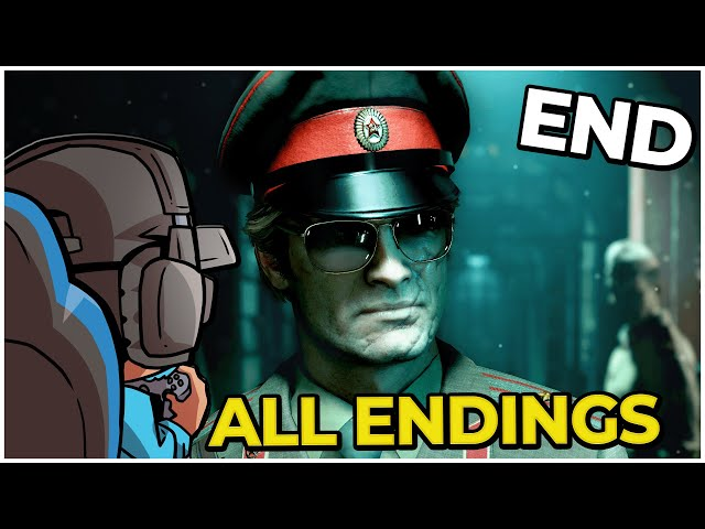CALL OF DUTY: BLACK OPS COLD WAR | ALL ENDINGS | Thank you for service Bell |