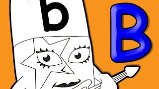 Alphablocks | Coloring for kids | Alphablocks Alphabets Coloring | Learning Kids abc