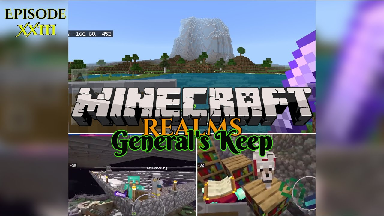 "KEEP ENCHANTING - ""General's Keep"" (XXIII) - A Minecraft Realms Adventure [Bedrock]"