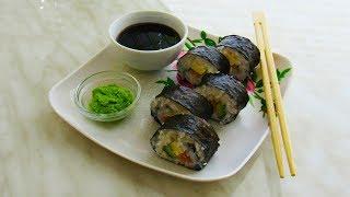 РОЛЛЫ дома. Как приготовить (суши) роллы в домашних условиях. Рецепт