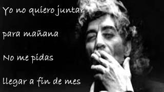 Contigo - Joaquin Sabina (letra)