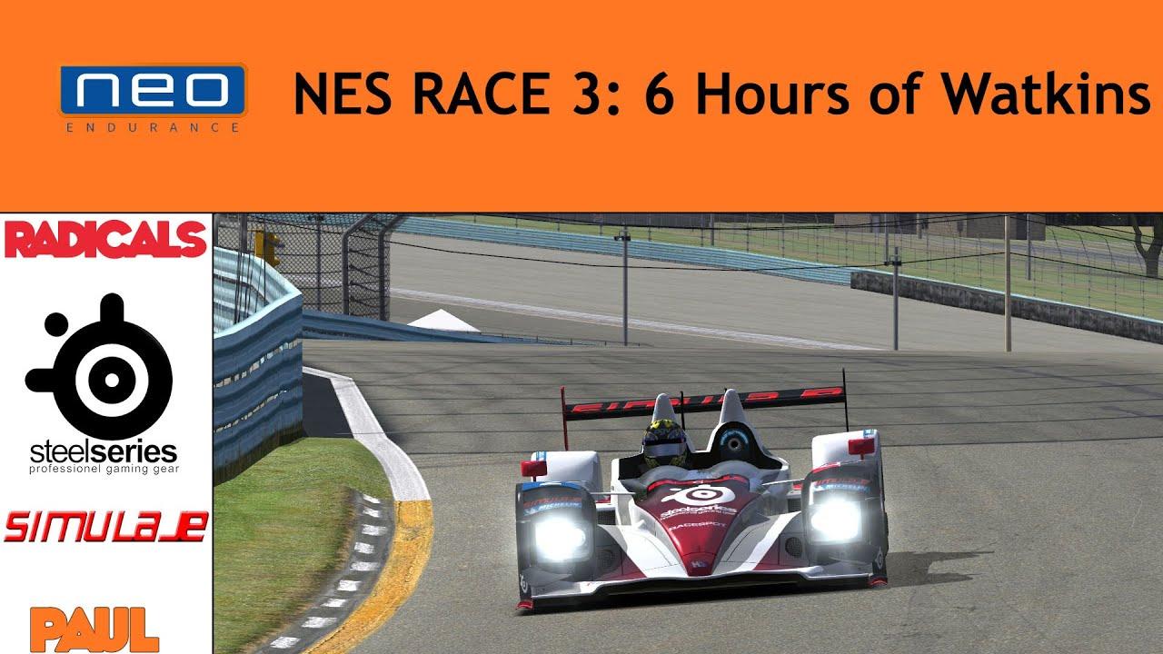NEO Endurance Series 2 - #3 Watkins Glen - Paul onboard