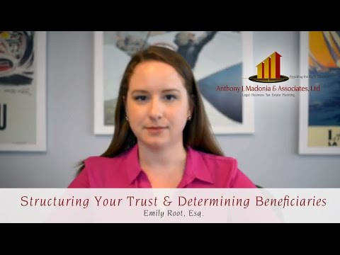 Structuring Your Trust & Determining Beneficiaries