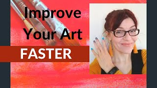 How to Get Better at Art - FAST!