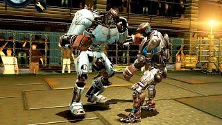 REAL STEEL WRB Ambush VS Atom & Aquabot & Bio War & Six Shooter