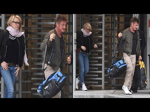 Giving Love Another Try? Sean Penn Jets Off With Ex-wife Robin Wright After 7 Years After Divorce