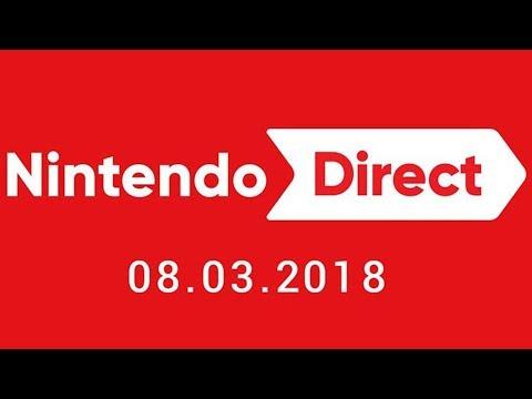 Nintendo Direct 3.8.2018 LIVE REACTION
