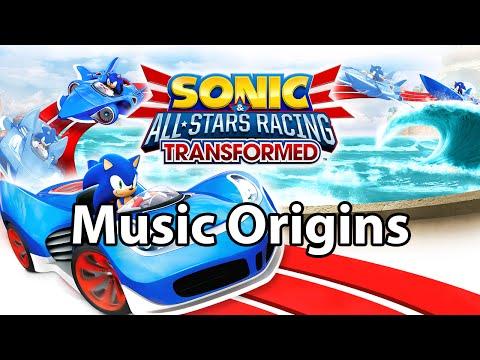 Sonic & All Stars Racing Transformed - All Track Music Origins