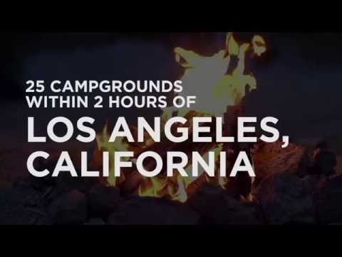 25 Campgrounds Within 2 Hours of Los Angeles, CA