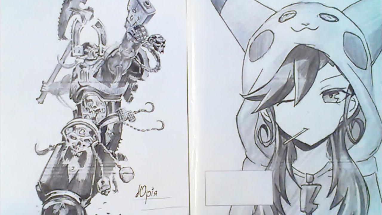 картинки для срисовки на обложку тетради