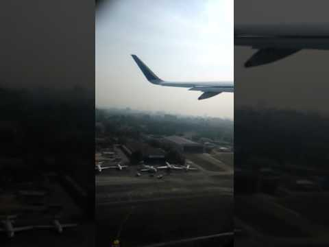 Beautiful Mumbai airport and santacruz aerial view