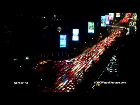 Traffic on main street in Jakarta SF1500