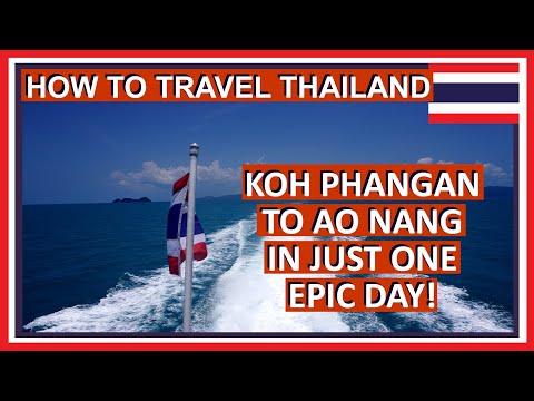 How to get to Ao Nang from Koh Phangan | Getting to Ko Samui, Surat Thani and Ao Nang