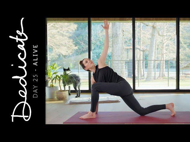 Dedicate - Day 25 - Alive  |  Yoga With Adriene