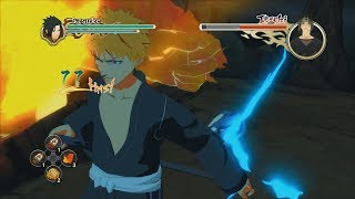 Naruto Ultimate Ninja Storm 2 PC MOD Ichigo vs Itachi Crossover English Dub Boss Battle 1080p