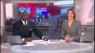 BBC News special edition with Komla Dumor and Rachel Schofield