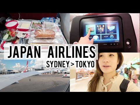 Flying Japan Airlines JAL | Sydney To Tokyo Narita