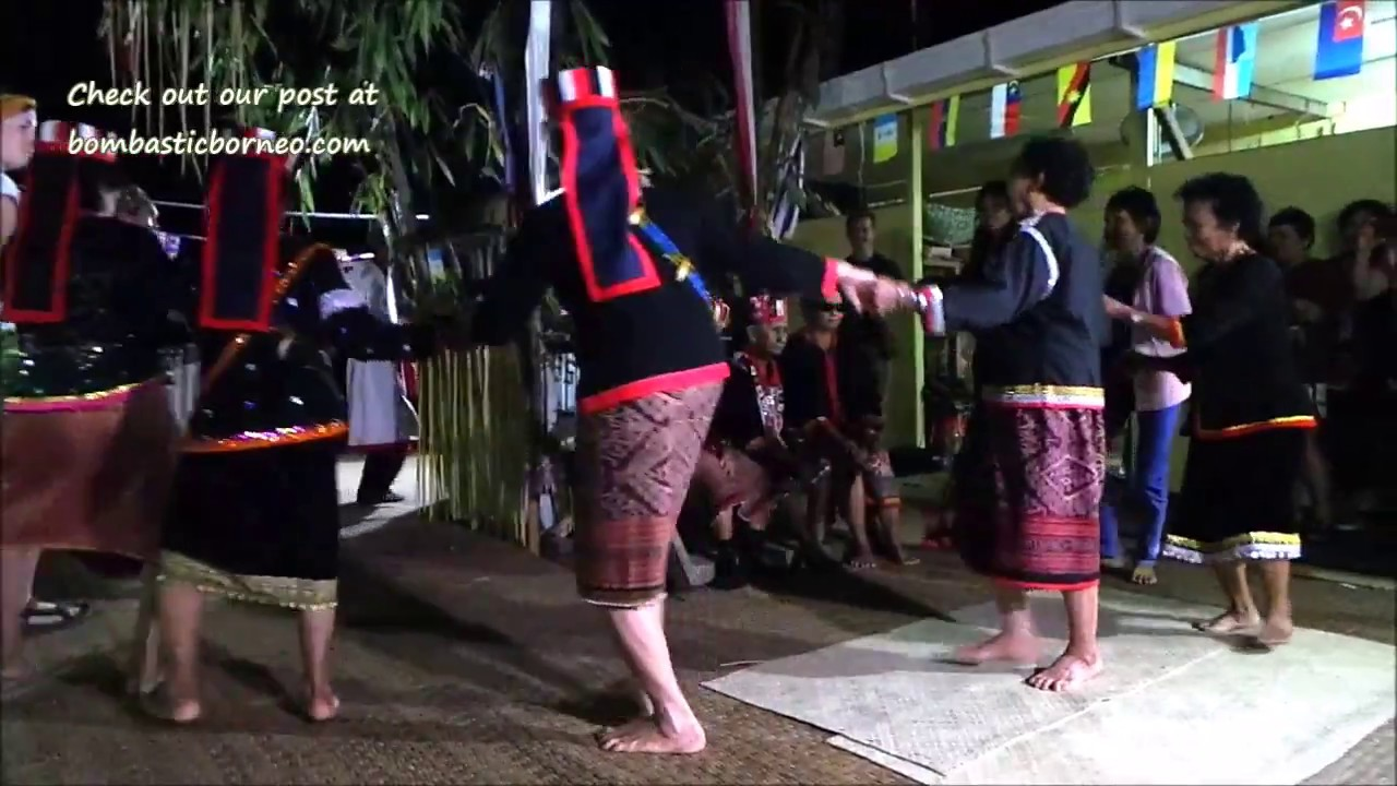Gawai Harvest Festival Kampung Serasot 2016 Bau Sarawak Malaysia Borneo Native 婆罗洲游踪古晋砂拉越传统丰收节日土著部落 Youtube