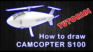 TUTORIAL (SOLIDWORKS) HOW TO DRAW THE CAMCOPTER S100