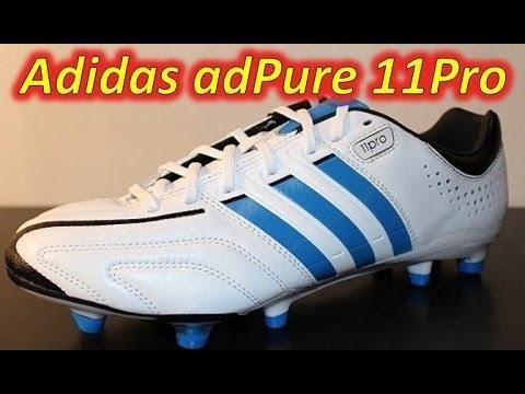 wholesale dealer a566b 51198 Adidas adiPure 11Pro White/Blue/Black - UNBOXING
