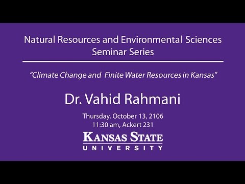 Climate Change and Finite Water Resources in Kansas