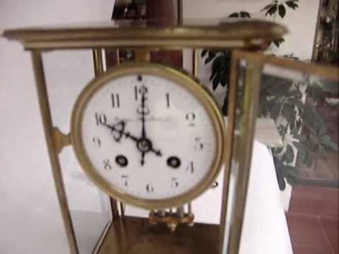 Antiguo reloj de mesa frances de paris samuel marti - Relojes antiguos de mesa ...