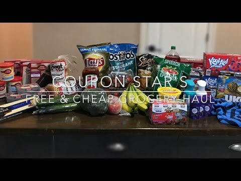FREE & CHEAP GROCERY HAUL – March 24th 2017 – COUPONING IN CANADA!