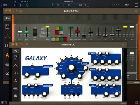 SYNTRONIK Updated With AUv3 Support - Demo & Tutorial for the iPad