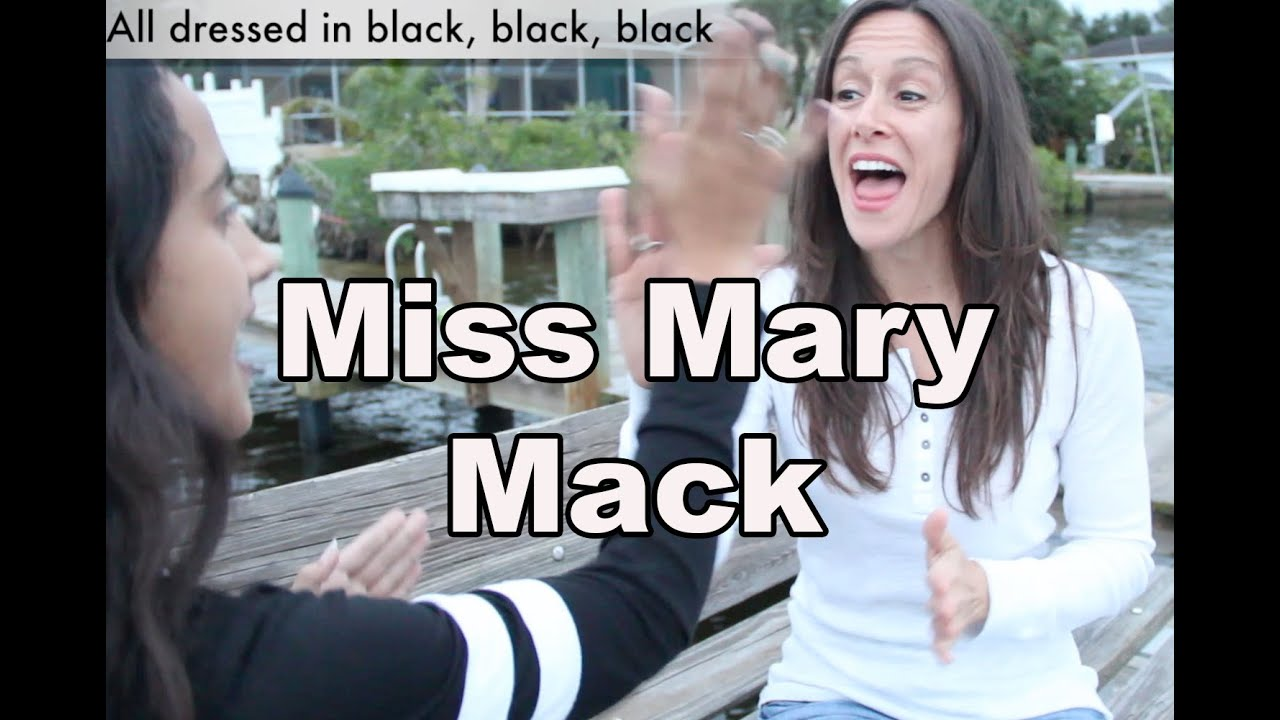 Children S Song Miss Mary Mack Nursery Rhyme For