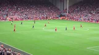 Before the whistle blows at Anfield: Liverpool vs. Man Utd 2013