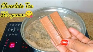 Chocolate Tea Recipe Without Cocoa Powder Chocolate Chai Recipe Dairy Milk Chai😋😋