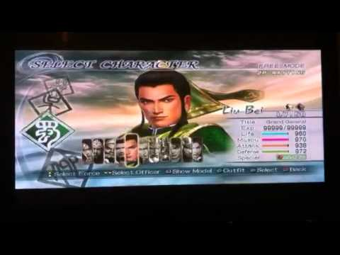 Dynasty warriors 6 how to unlock red hair