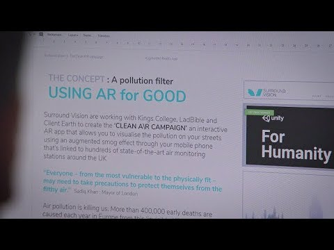 Unity for Humanity 2019 winner: Clean A\R