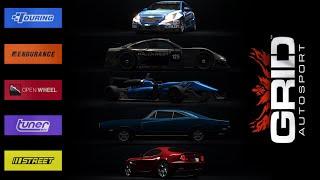 cars! Grid Autosport Black Edition