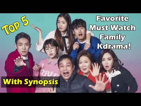 Top 5 Recommended Family KDrama To Watch - Romance, Comedy, Thriller, Family Korean Dramas