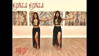 Gali Gali KGF | Neha Kakkar | Mouni Roy | Amrita & Raveena's Dance