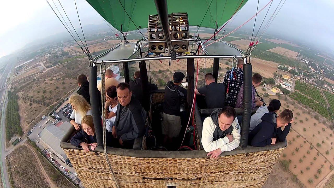 Volar en globo en valencia youtube - Paseo en globo valencia ...