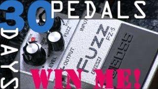 Boss FZ-5 Fuzz Bitesize Review - 30 Days, 30 Pedals - WIN!